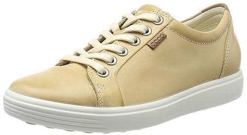 Ecco Soft 7 Ladies, Zapatillas para Mujer, Beige (Powder), 42 EU Ecco