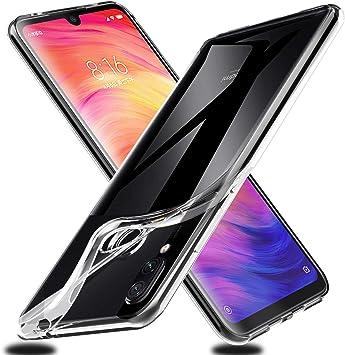 VGUARD Funda Carcasa Gel Transparente para Xiaomi Redmi Note 7 ...