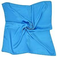 PB-SOAR Einfarbiger Schal Bandana Halstuch Kopftuch Nickituch, 13 Farben auswählbar