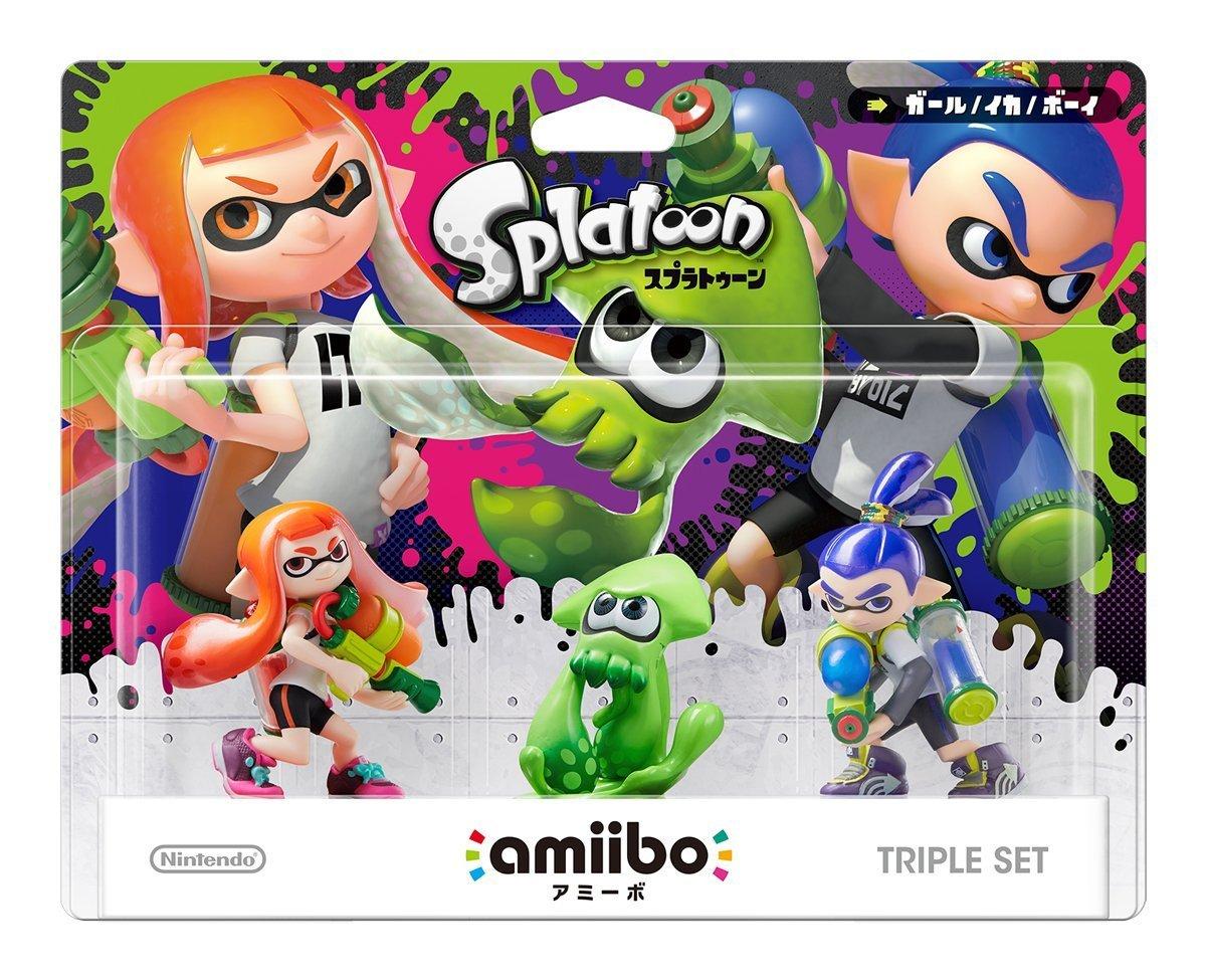 Splatoon 3-pack amiibo - Japan Import (Splatoon Series)