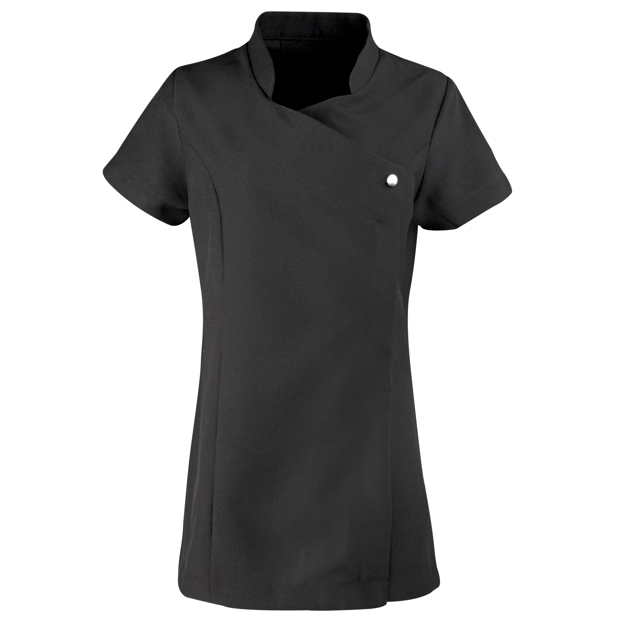 Premier Ladies/WomensBlossom Tunic/Health Beauty & Spa/Workwear (6 US) (Black)