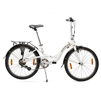 "Dahon Briza D8 Bicicleta Plegable, Unisex Adulto, Blanco Frost, 24"""