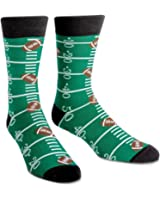 Sock It To Me Mens Football Crew Socks - Touchdown