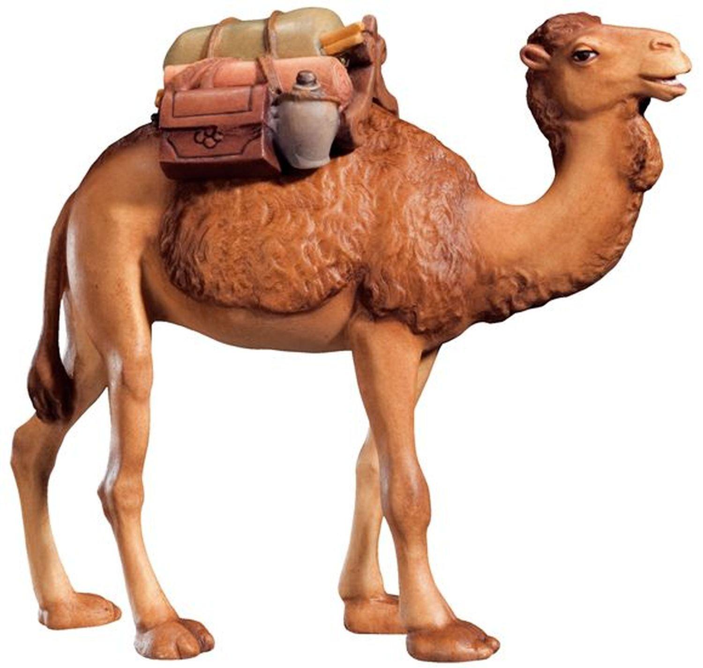 Kamel mit Sattel Krippenfigur Krippenfigur Krippenfigur Raffaello - Dolfi Holzkrippen 08cc1d
