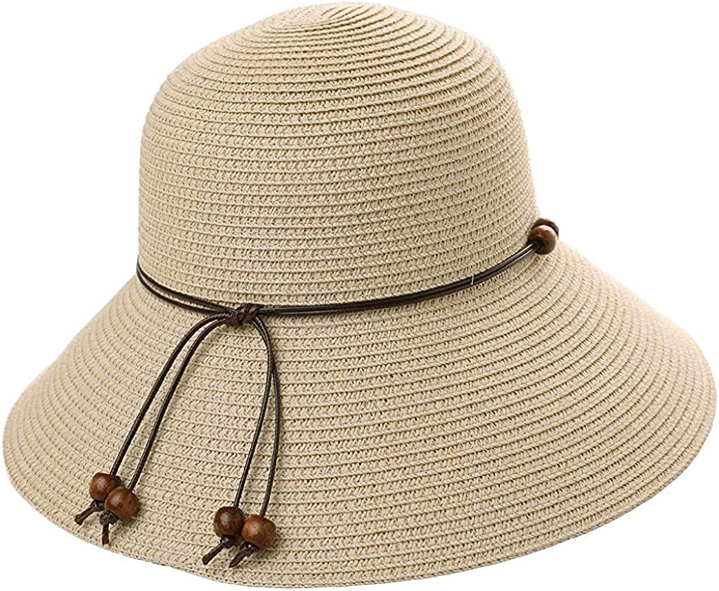 Summer Fashion Magazine Cover Design Leisure Straw Fedoras Paper hat,Blue,57cm