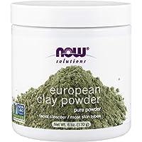 NOW Solutions European Clay Powder 6 fl oz 100% Pure