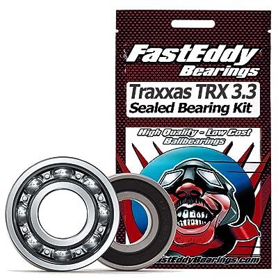 Traxxas TRX 3.3 Engine Sealed Bearing Kit: Toys & Games