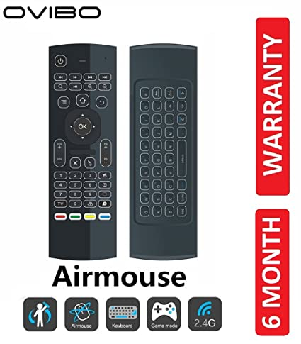 OVIBO® 2 4G Wireless Air Mouse Keyboard Remote: Amazon in: Electronics