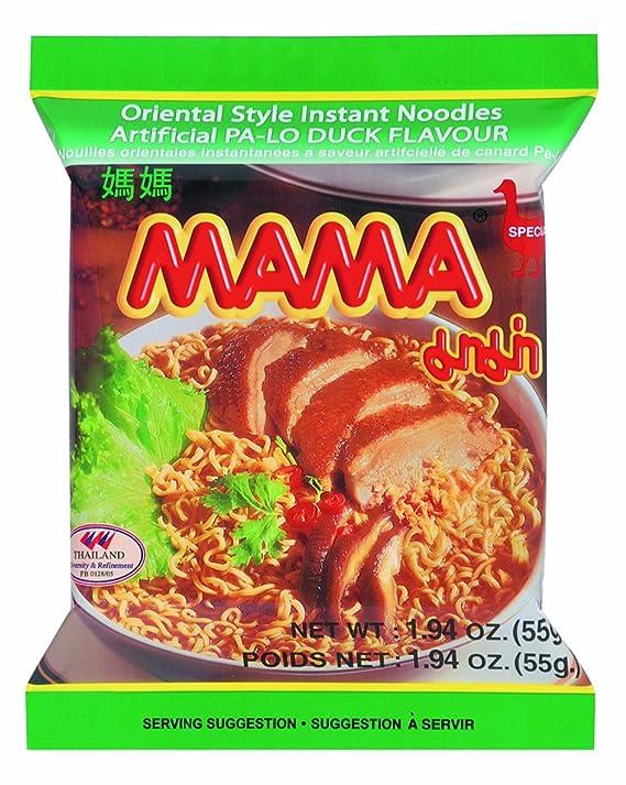 Mama Instant Pasta, pollo, 24 unidades) (24 x 55 g): Amazon.es: Alimentación y bebidas