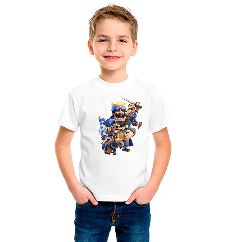 Camiseta niño dibujo royale