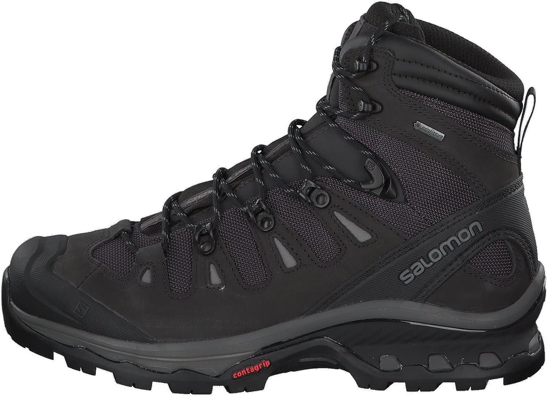 Salomon Quest 4D 3 GTX, Zapatillas de Trail Running para Hombre, Gris (Phantom/Black/Quiet Shade 000), 42 2/3 EU: Amazon.es: Zapatos y complementos