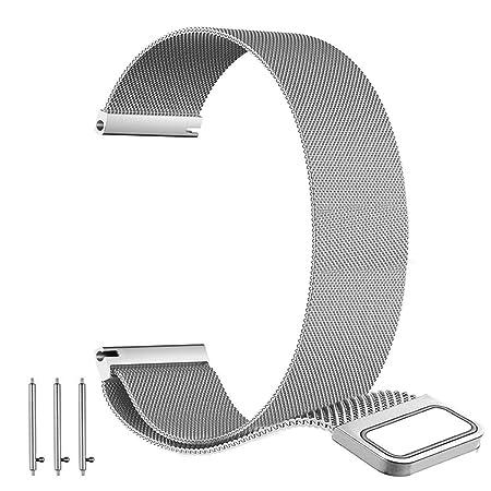 BarRan reg; Nokia Steel HR 40MM Bracelet, 20mm Milanese boucle du bracelet montre magnétique Buckle Strap Bracelet pour Nokia Steel HR 40MM: Amazon.fr: ...