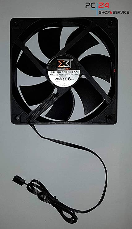 PC24 Shop & Service - Ventilador Negro 0. Menge: 1: Amazon.es ...