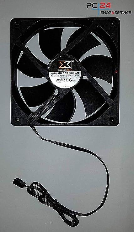PC24 Shop & Service - Ventilador Negro 0. Menge: 1: Amazon.es ...