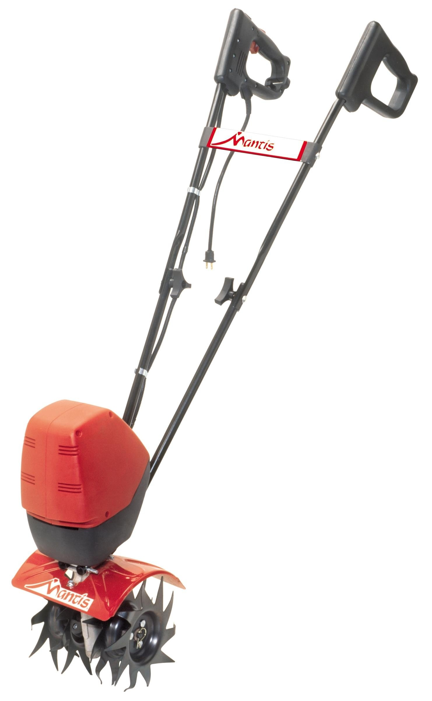 Mantis Corded Electric Tiller Cultivator 7250 with Touch-Start – Push-Button Instant Start, Powerful, Compact and Lightweight, Quiet, Easy-to-Use, No-Emissions – Built to be Durable and Dependable