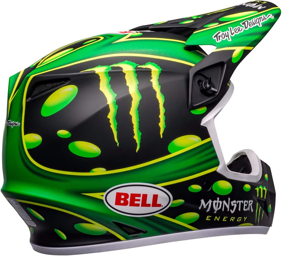 Showtime Replica Matte Black//Green, Small Bell MX-9 MIPS Off-Road Motorcycle Helmet