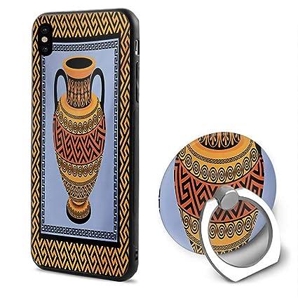 Amazon.com: Llavero griego, marco con adorno tradicional ...