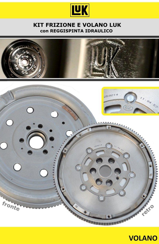 Kit Embrague + Volante bimassa Original LUK VW Passat 1.9 TDI - 77 kW 105 CV.: Amazon.es: Coche y moto