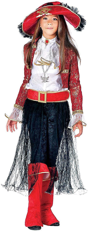 Carnevale Venizano CAV3862-XL - Kinderkostüm Lady CORSARA - Alter: 7-10 Jahre - Größe: XL