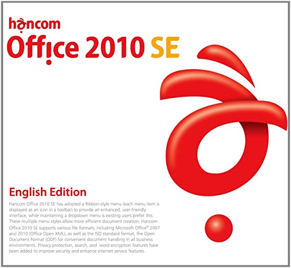 Hancom Office 2010 SE English Edition 3PC 1User