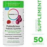 Rainbow Light - Probiolicious Probiotic Gummies - Supports Digestion and Gastrointestinal Health - 50 Count