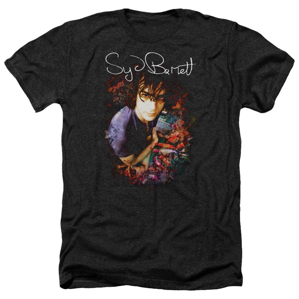 Syd Barrett MADCAP SYD Album Cover Licensed Adult Heather T-Shirt All Sizes