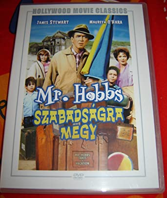 mr hobbs takes a vacation full cast
