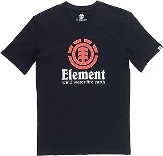 Element Vertical SS Boy, Tee Shirt Bambino, Flint Black, 14