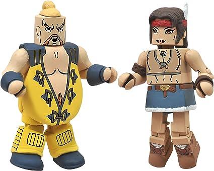 Street Fighter X Tekken Minimates Series 2 Rufus vs Julia