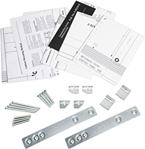 WX4-A019 JXA019k Microwave Mounting Kit Replacement for GE, Optional Undercabinet Metal Microwave Hanging Kit