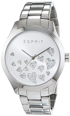 Armbanduhr damen esprit  Esprit Damen-Armbanduhr Esmee Analog Quarz Edelstahl ES107282004 ...