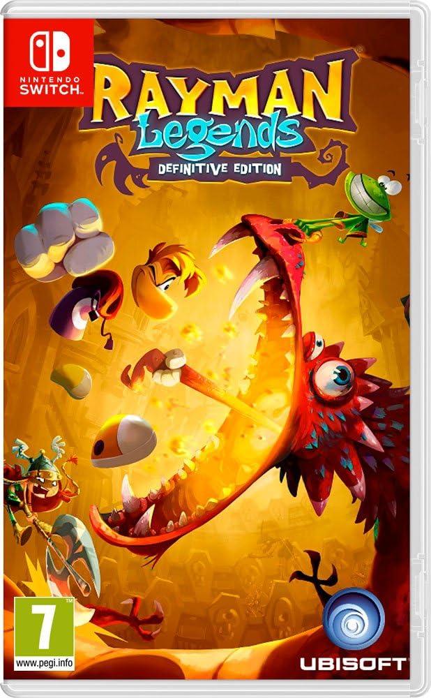 Rayman Legends: Definitive Edition: Amazon.es: Videojuegos