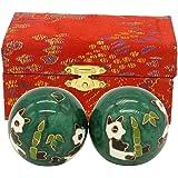 Cloisonne Health Hand Balls Exercise Stress Balls Craft Collection