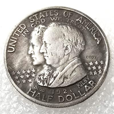 DengRen Best Alabama Morgan Dollar Replica Coin -1921 USA Old Coin -USA Old Commemorative American Coins-Funny Hobo Nickel Coin Satisfactory Service: Kitchen & Dining