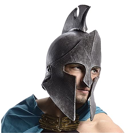 300 Rise of An Empire Movie Themistocles Helmet Spartan Costume  sc 1 st  Amazon.com & Amazon.com : 300 Rise of An Empire Movie Themistocles Helmet Spartan ...