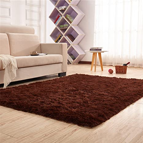 Noahas Super Soft 4.5cm Thick Modern Shag Area Rugs Fluffy Living Room  Carpet Comfy Bedroom