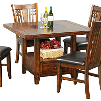 Zahara Dining Table W Drop Leaf
