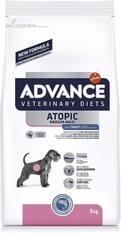 ADVANCE Veterinary Diets Atopic - Pienso para Perros con Problemas Atópicos con Trucha - 3kg