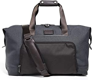 TUMI - Alpha 3 Double Expansion Travel Satchel - Duffle Bag for Men and Women - Anthracite
