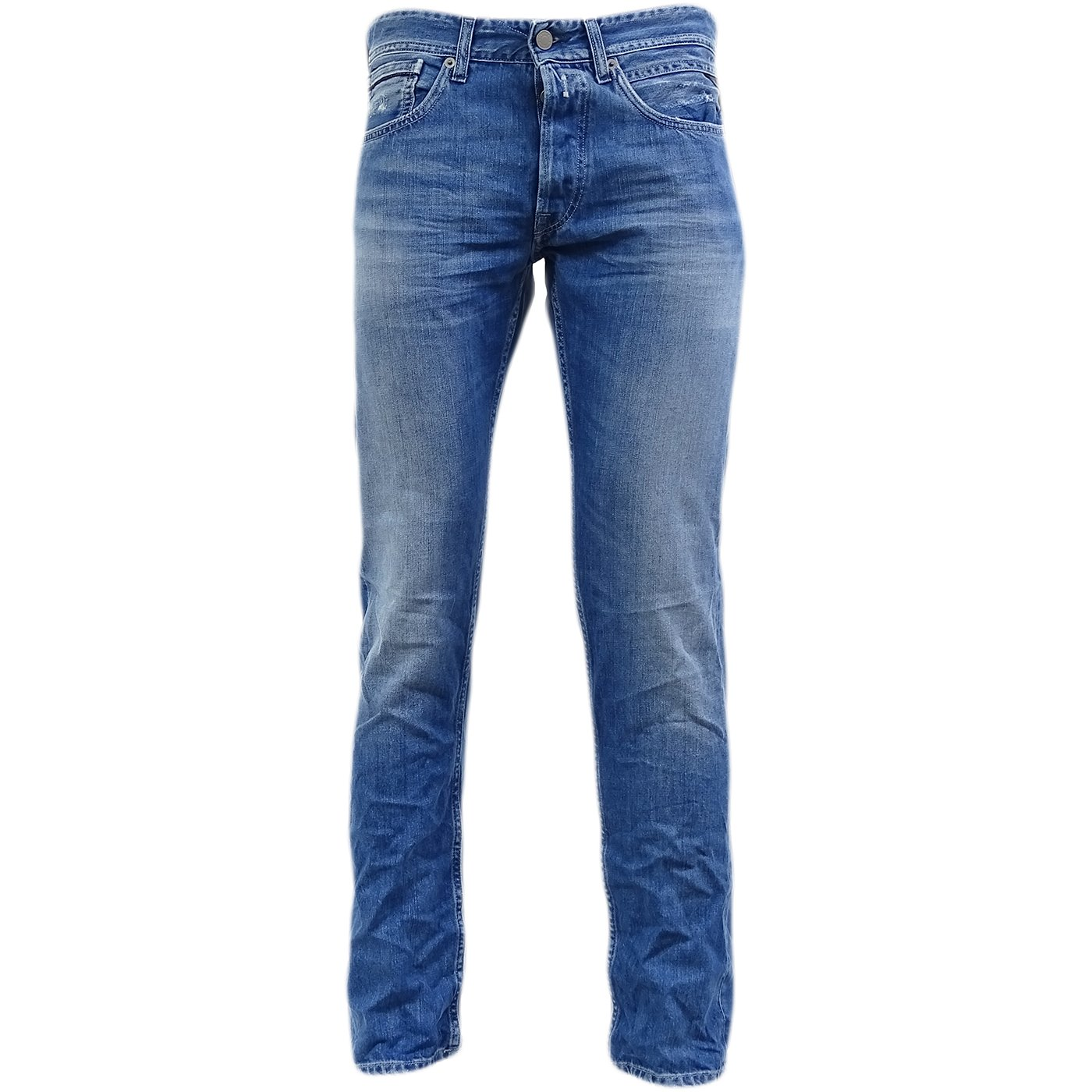 Replay Blue Grover Tapered Leg Jean/Denim Pants - Ma972-12C-957-010 34/30