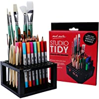 Mont Marte 96 Hole Plastic Pencil & Brush Holder for Paint Brushes, Pencils, Markers, Pens and Modeling Tools. Provides…