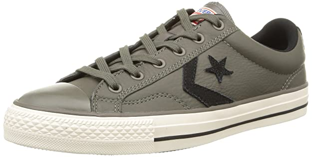 Converse Unisex Adults Sp Fundam Leath Low grey Size 7 Amazoncouk Shoes  Bags