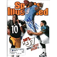 $134 » Steve McNair Autographed Tennessee Titans Sports Illustrated 9/1/97 Beckett Authenticated - Autographed NFL Magazines