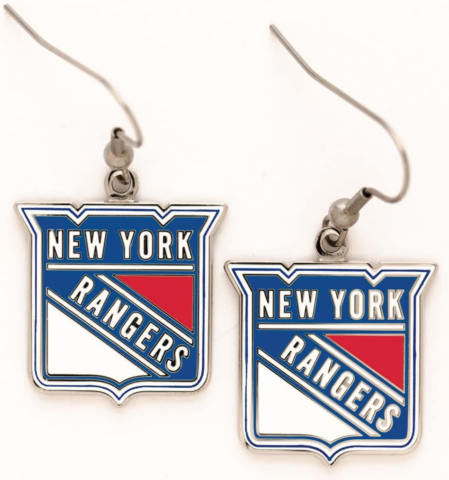 WinCraft NHL Earrings Jewelry Card