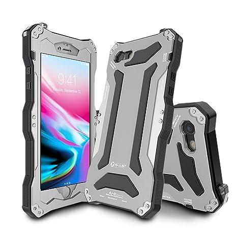 custodia iphone 8 plus metallo