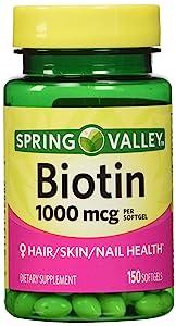 Spring Valley - Biotin 1000 mcg, 150 Tablets