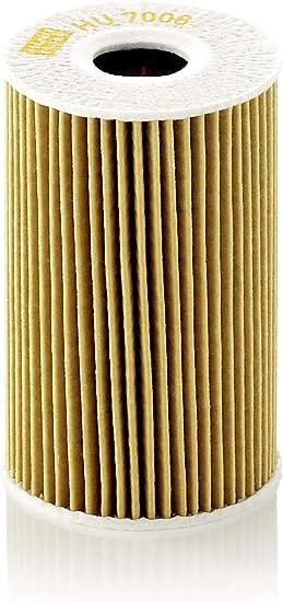 MANN-FILTER HU 7008 Z Original Filtro de Aceite, Set de filtro de ...