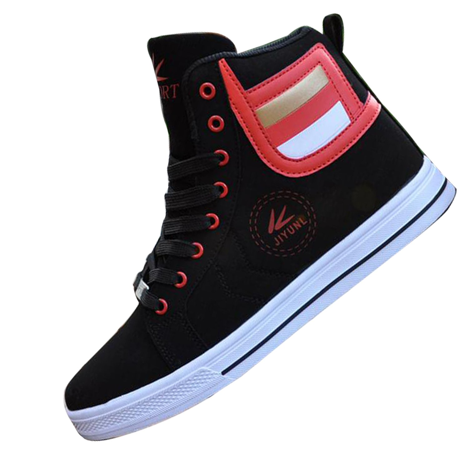 c184b73a06475 Amazon.com | Gaorui Lot Fashion Men Casual Shoe High Top Sport ...