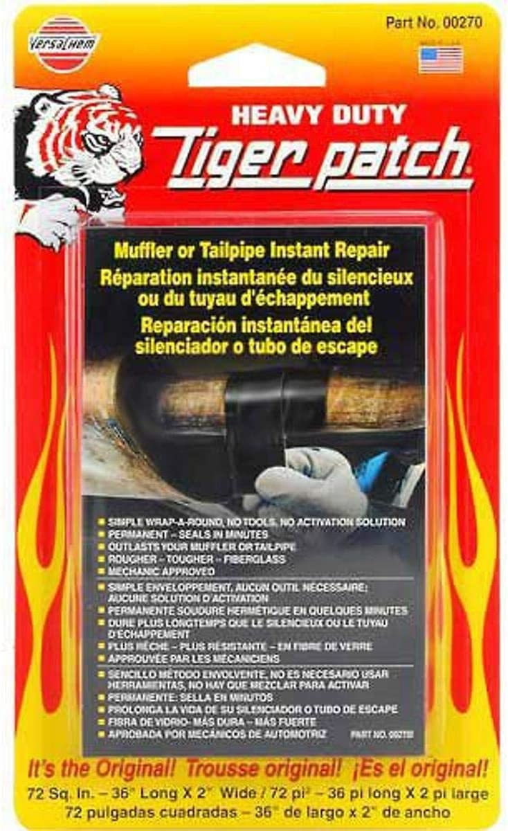 Versachem 4333092946 Muffler Tape Tigerpatch: Automotive