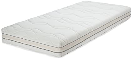 AmazonBasics Materasso singolo extra comfort in memory foam a 7 zone ...